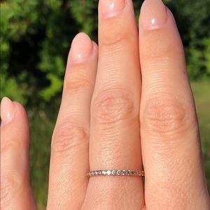 Swarovski Rose Gold Vittore Ring